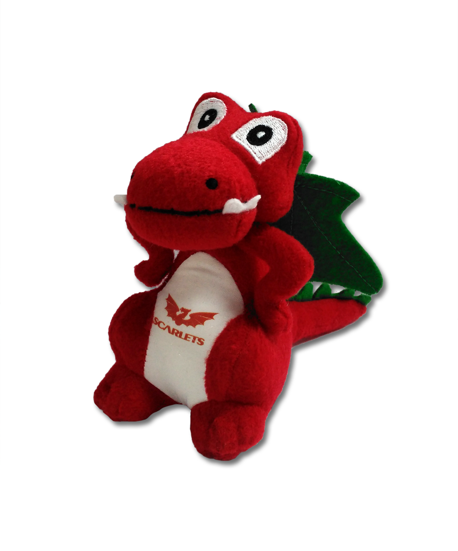 Squishy Dragon Toys : Scarlets Dragon Soft Toy ? The Official Scarlets Macron Shop