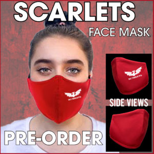 Scarlets Facemask